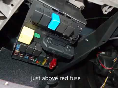 smart car odb2 and fuse box diagnostics port location youtube rh youtube com