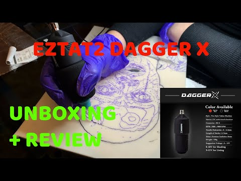 EZTAT2 DAGGER X 👀 UNBOXING AND INITIAL REVIEW 👀