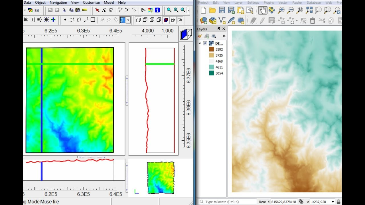 How to insert Topography Data from a Digital Elevation Model into Model  Muse - Tutorial
