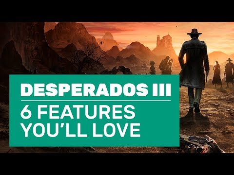 Bear Trap Murders, Ninja Cowboys And 6 More Desperados 3 Features You'll Love