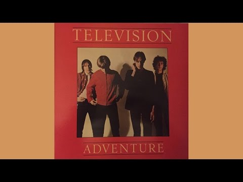 "Television   Adventure + 12"" Single 'Foxhole"" (full album) (VINYL)"