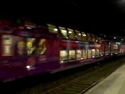 The RER in Paris France