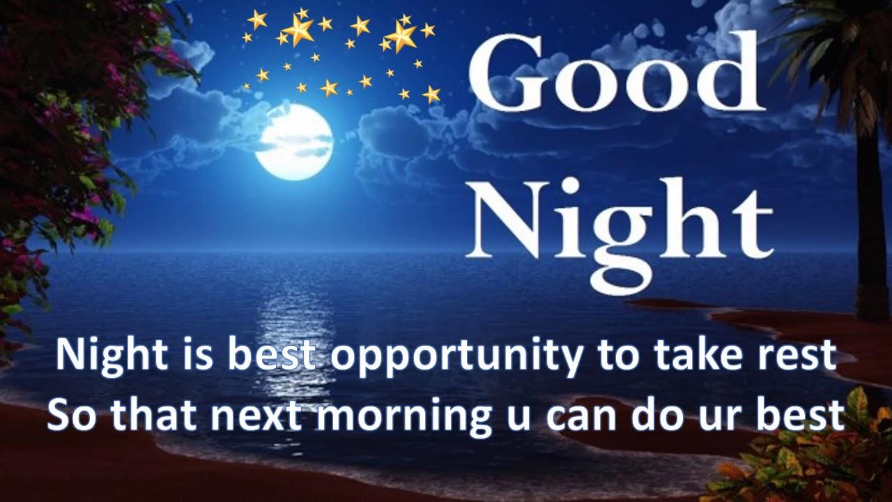 Good Night Video Good Night Greeting Card Gud Night Whatsapp