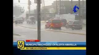 En Zulia el municipio Machiques de Perijá fue declarado en alerta amarilla tras fuertes lluvias