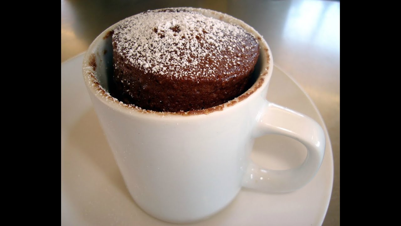 recette 1 mug cake fondant chocolat youtube. Black Bedroom Furniture Sets. Home Design Ideas