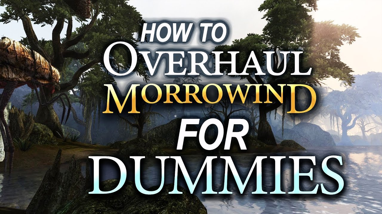 Overhauling Morrowind for Dummies ♥ | MGSO + Rebirth (2018)