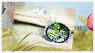 Origami Owl, Independent Designer, The Lauras - Beach Locket