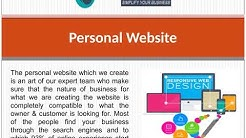 Personal website design in Florida (+1 3052227047)