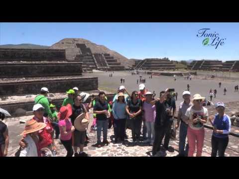 Tour por Pirámides de Teotihuacán, Distribuidores VIP en Convención Tonic Life DF 2015