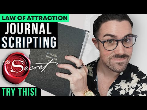 Journal LIKE THIS for 21 Days to Manifest INSTANTLY (LOA SCRIPTING)