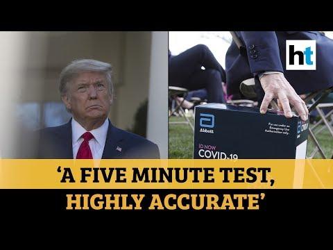 Donald Trump unveils
