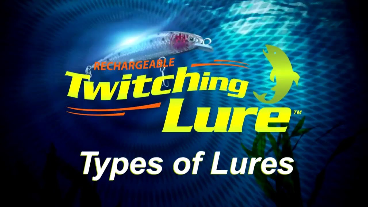 rechargeable twitching lure: types of lures - youtube, Reel Combo