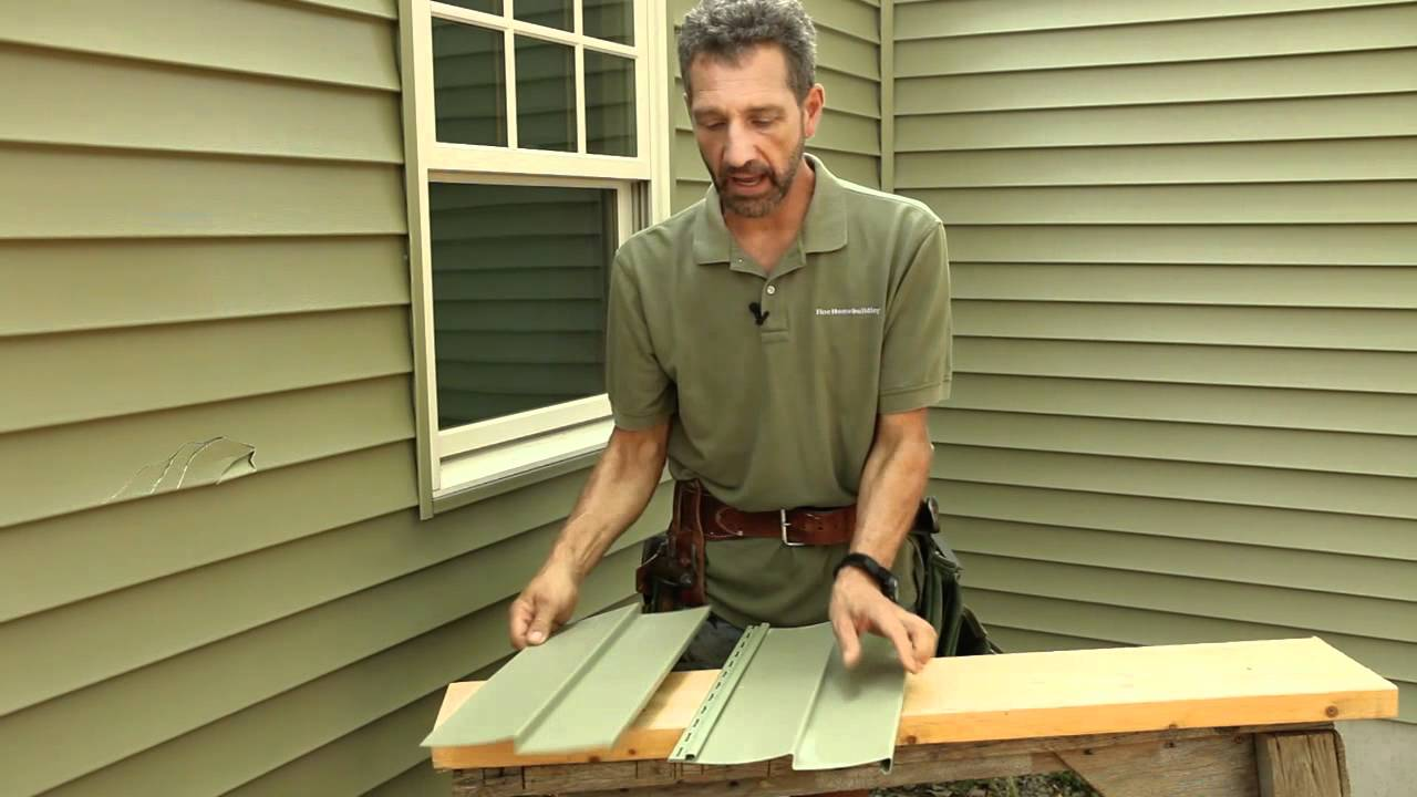 how to patch and repair siding youtube