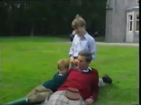 William & Harry with Prince Charles Holiday