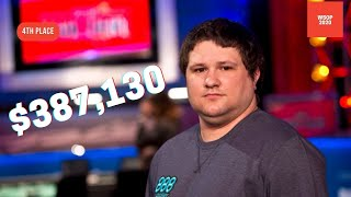 2020 WSOP Main Event Final Table: 4th Place Ryan Hagerty