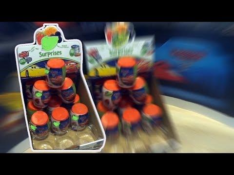 Cars 3 Barrel Storm 9 Lightning McQueen Disney Pixar Kinder Surprise Eggs