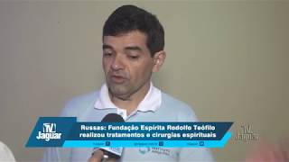 Fundação Espírita Rodolfo Teófilo realizou tratamentos e cirurgias espirituais.