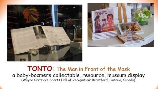 Jay Silverheels biography - TONTO: The Man in Front of the Mask (book)