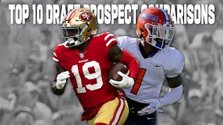 NFL Comparisons for Top Draft Prospects in 2021 Draft Class