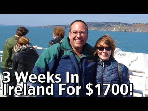 Planning A Trip To Ireland! - How We Traveled To Ireland Under $2000 For 3 Weeks - Budget Travel
