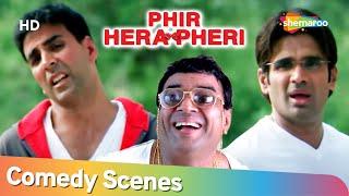 Phir Hera Pheri | Most watched Comedy Scenes | Paresh Rawal - Akshay Kumar - Rajpal Yadav