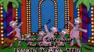 The Simpsons Treehouse of Horror V End Credits
