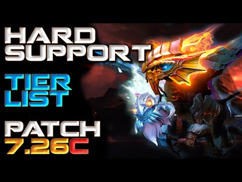 5 Role Hard Support Hero Tier List   Patch 7.26c Dota 2