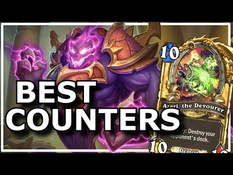 Hearthstone - Best Counters | ft. Azari