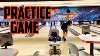 Youth bowler practice game | Logan Fossum