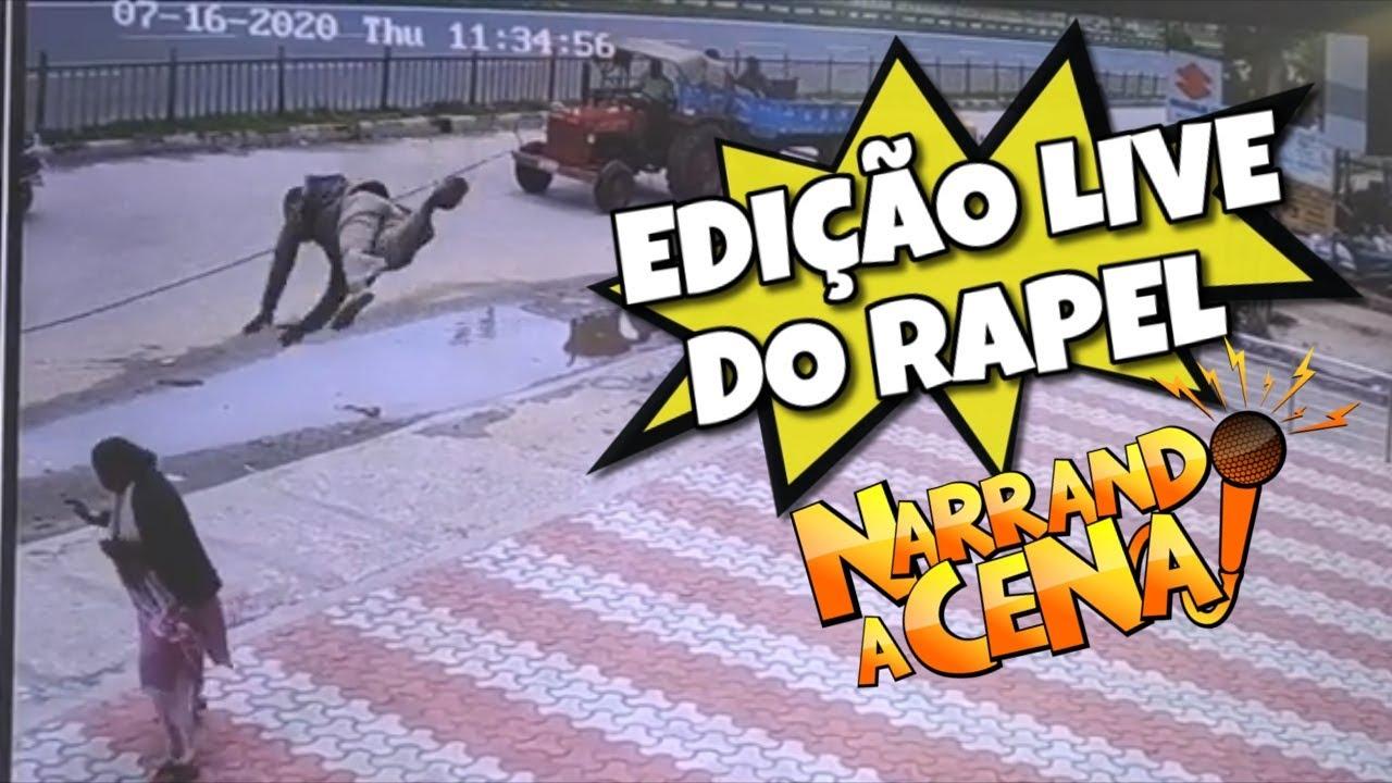 NARRANDO A CENA #88 (Edição Live do Rapel)