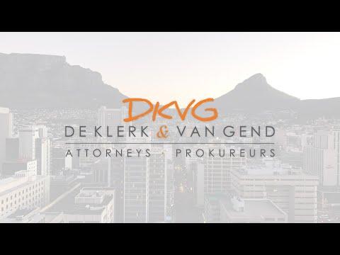 DKVG  |  De Klerk & Van Gend | LAW Firm in South Africa | Co