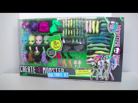 Create A Monster Skultimate Set - Monster High