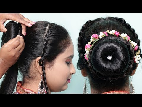 3 New Bun Hairstyles For Wedding Party Function Trending
