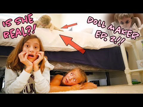 IS SHE COMING TO LiFE?! THE DoLL MaKER EP. 2!!