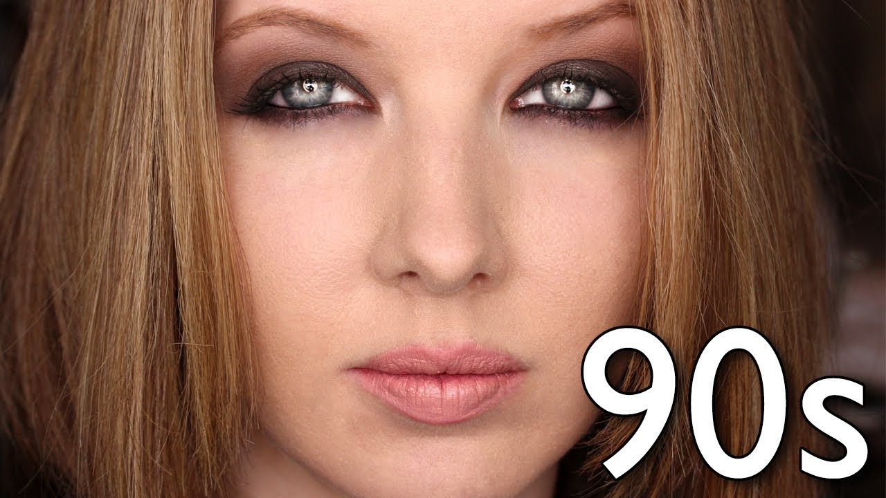 Historically Accurate: 90s Grunge Makeup Tutorial - YouTube