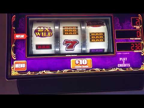Easy Money High Limit Slot Machine - $20/Spin - 3 Bonus Games