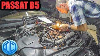 VW Passat B5 на обслуживании у автоэлектрика