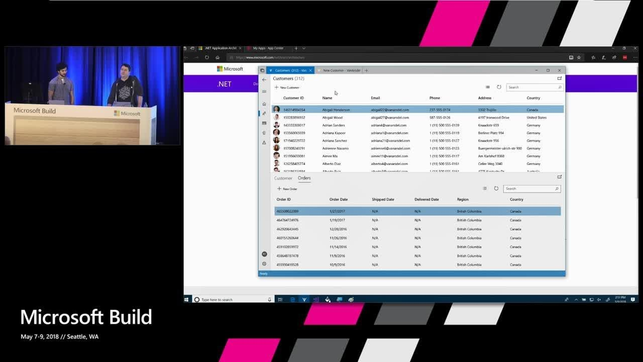 Building LOB Applications with UWP: How Microsoft ROCKED IT at Build