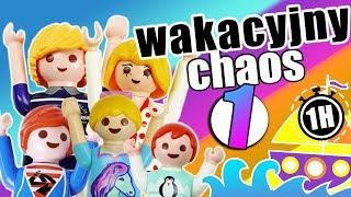 Playmobil Film polski - wakacyjny chaos - film   Serial Wróblewscy kompilacja