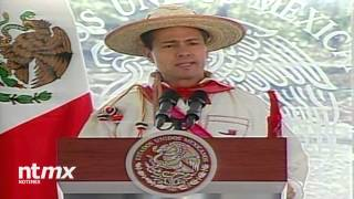 Peña Nieto inaugura la carretera Mezquital - Huazamota en Durango