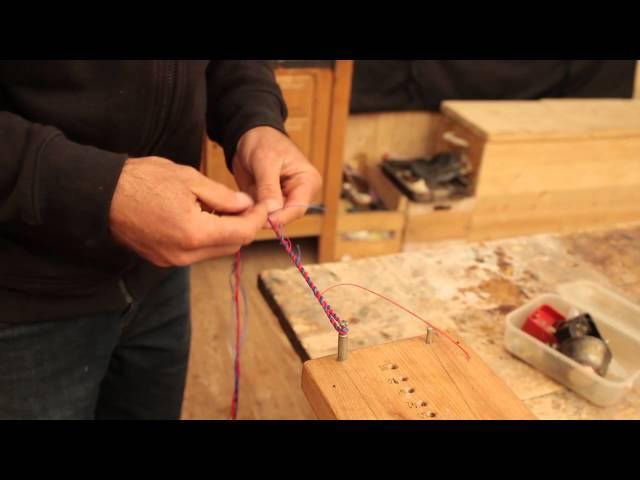 Anleitung Bogensehne bauen mit dem Sehnenbrett