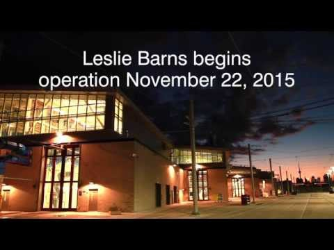 TTC Leslie Barns: Home Of Your New Streetcar!