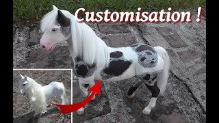 [Tuto] Customize a doll horse - Customiser un cheval de poupée