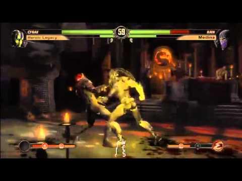 MK9 Windy City Showdown Tag Team MONEY MATCH - Medina (Rain/Rep) Vs. Heroic Legacy (Cyrax/Kung Lao))