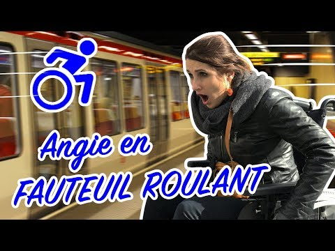 ANGIE EN FAUTEUIL ROULANT !! VLOG ANGIE MAMAN 2.0