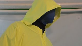 How to make a deluxe rain coat part 2