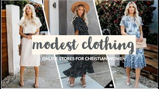 11 ONLINE CLOTHING STORES FOR CHRISTIAN WOMEN | 2019