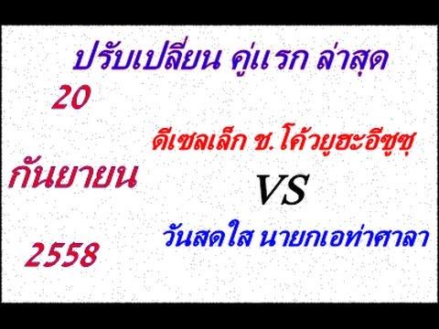 (คู่แรกล่าสุด) วิจารณ์มวยไทย 7 สี อาทิตย์ที่ 20 กันยายน 2558