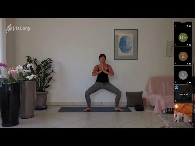 Hatha yoga dynamique #ouverture du coeur et circulation des émotions