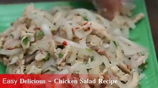 Easy Delicious - Chicken Salad Recipe